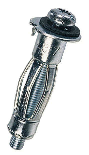 10chevilles pour cloisons creuses Easyfix 16-32mm M5 x72mm