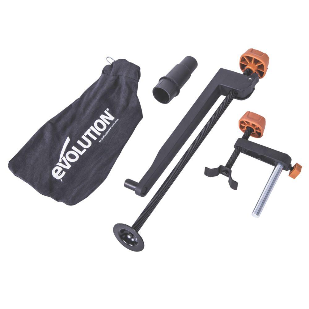 Pack d'accessoires pour scie à onglet Evolution R255 255mm, 4pièces