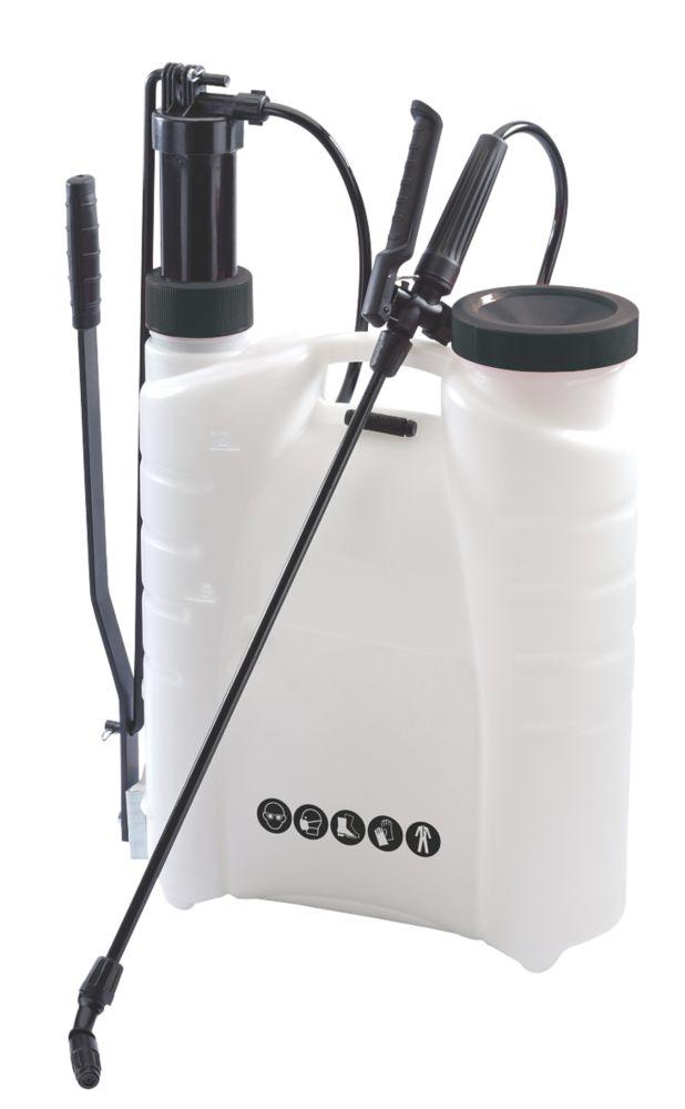 Pulvérisateur à dos sous pression BS1 blanc 12L