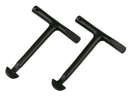 Paire de clés pour plaque d'égout Monument Tools 115mm