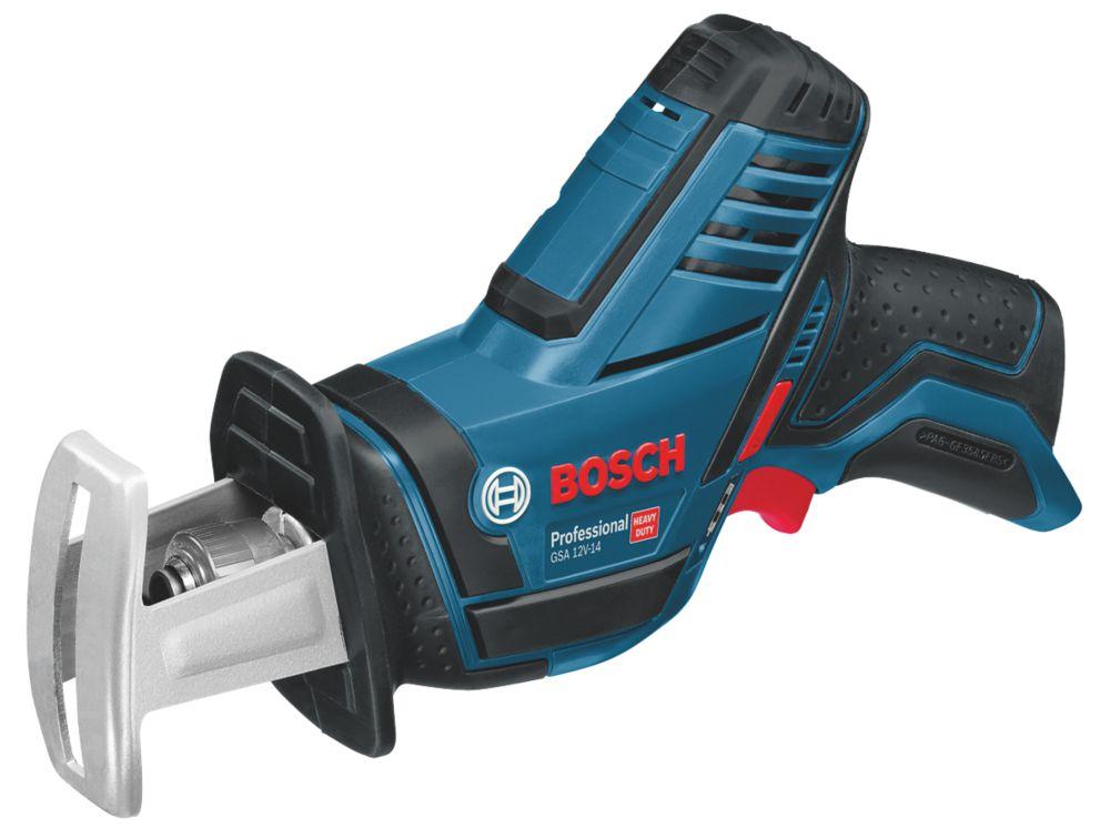 Scie sabre sans fil sans charbon Bosch GSA12V-LI 12V Li-ion CoolPack- Sans batterie