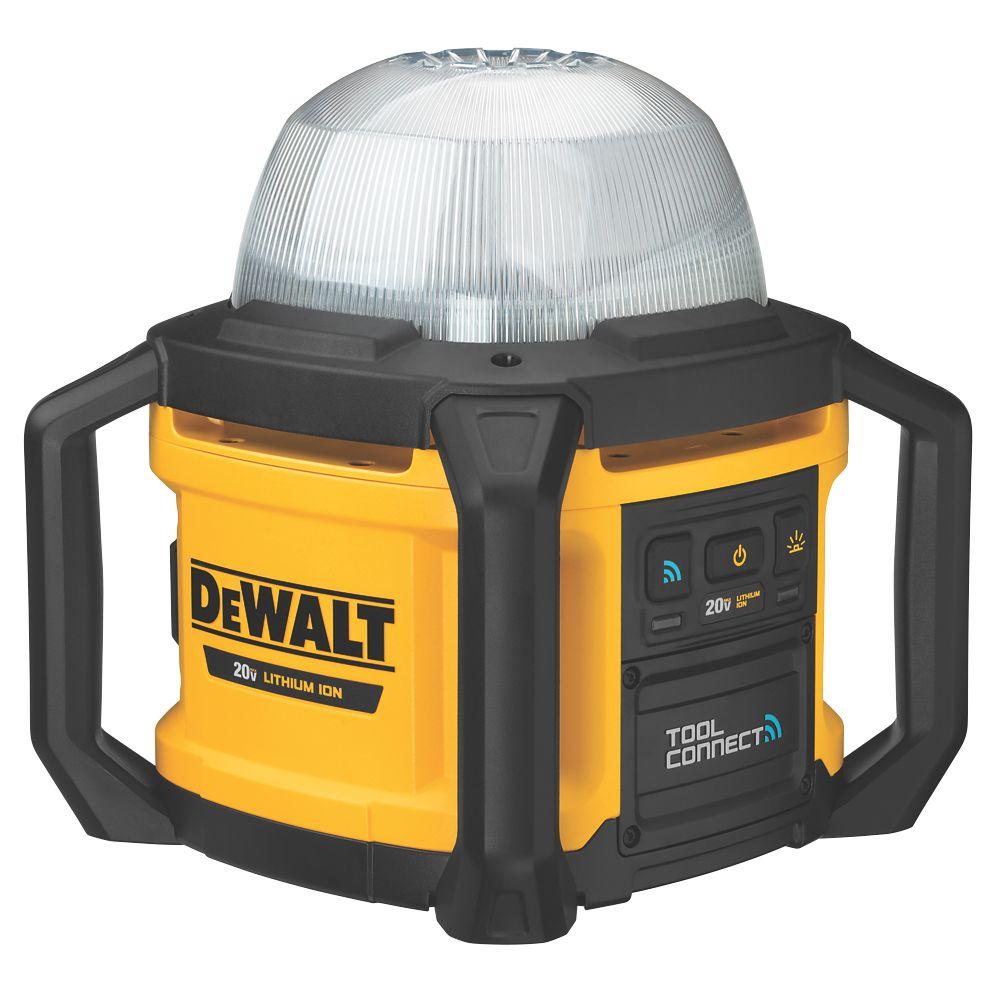Lampe de chantier Tool Connect sans fil DeWalt XR DCL074-XJ 18V Li-ion - Sans batterie