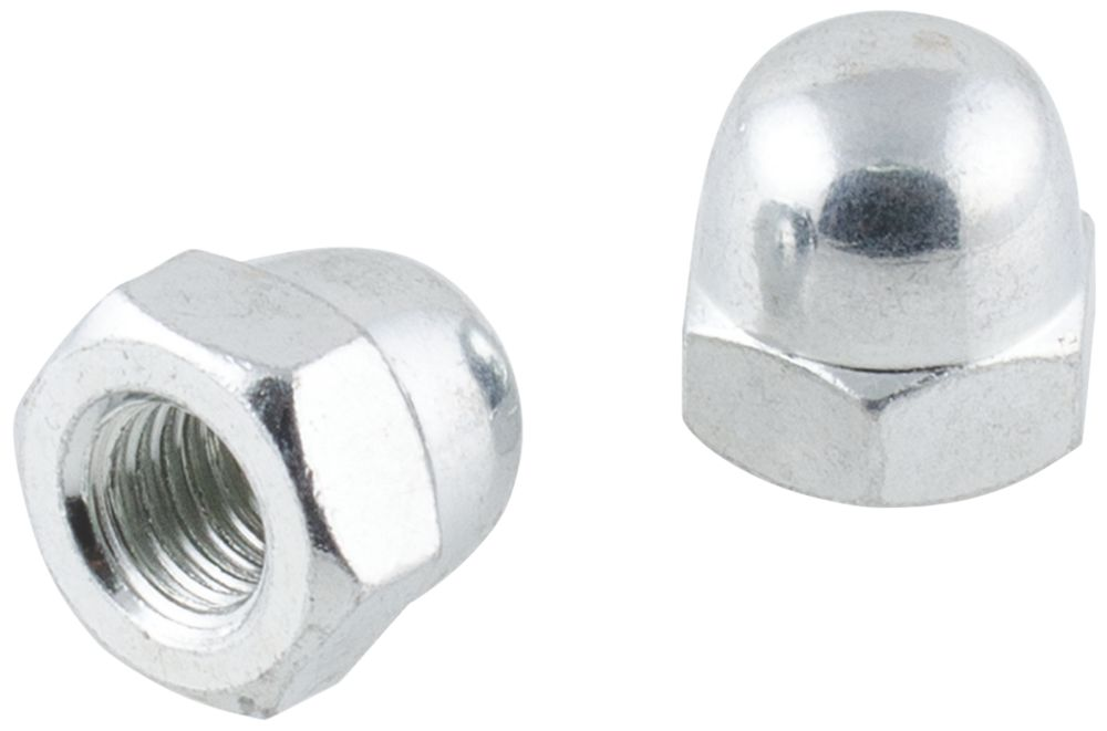 100écrous borgnes en acier au carbone Easyfix M10