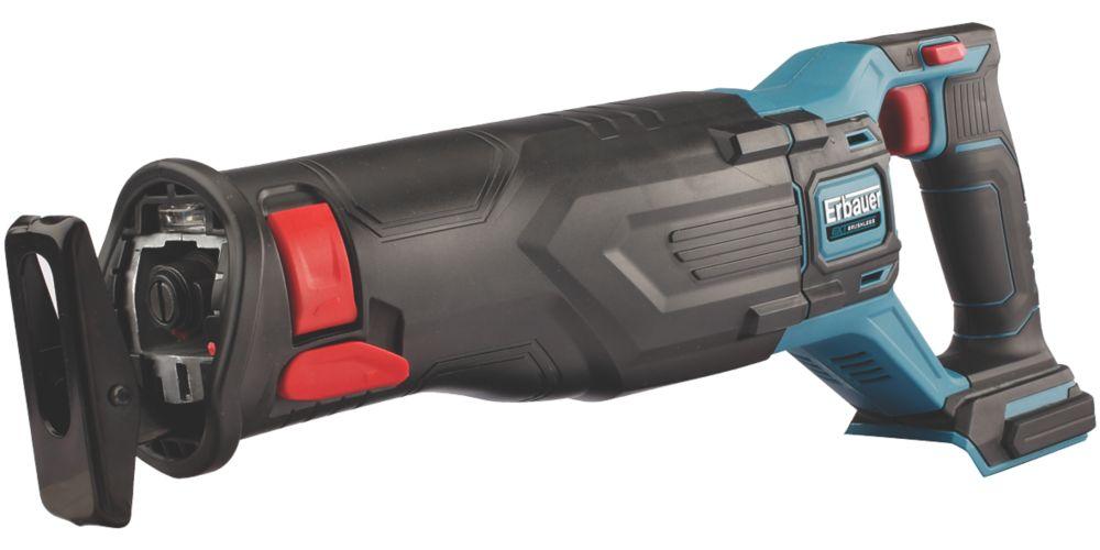 Scie sabre sans fil sans charbon Erbauer ERS18-Li 18V Li-ion EXT - Sans batterie