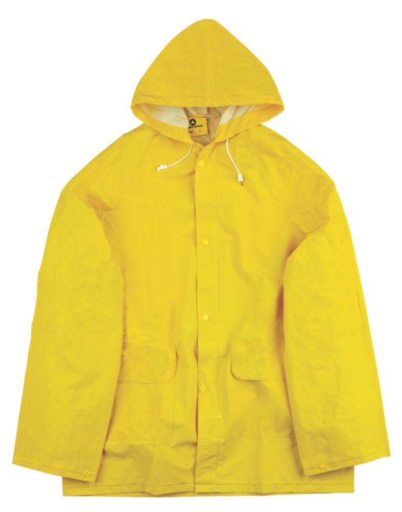 """Combinaison imperméable en 2parties Endurance Rainmaster jaune tailleXL, tour de poitrine 46-48"""""""