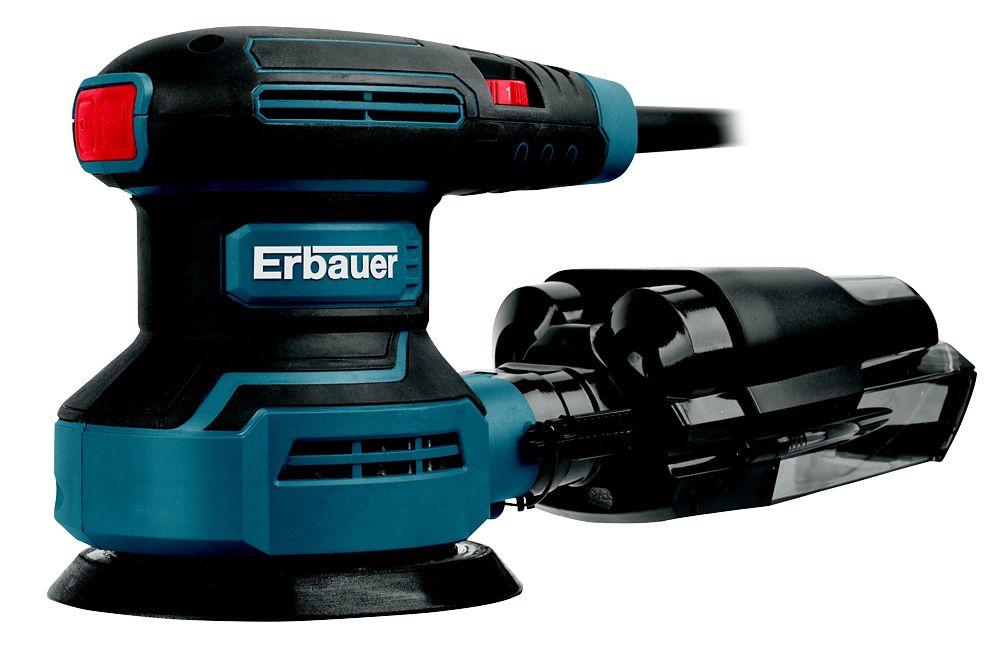 Ponceuse excentrique Erbauer ERO400 125mm, 400W
