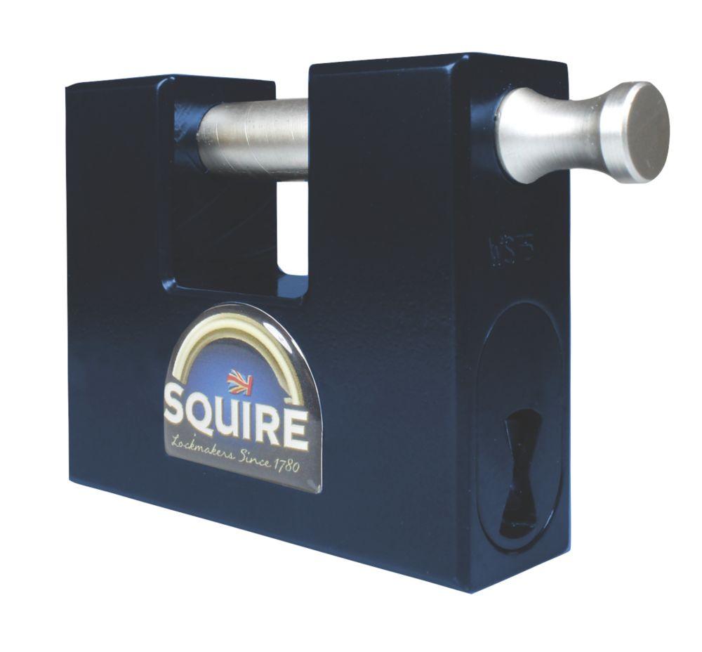 Cadenas pour conteneur en acier trempé résistant aux intempéries Squire Hi Security 80mm