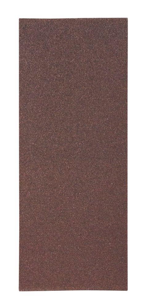 Lot de 10feuilles abrasives non perforées Flexovit ⅓ 230 x 93mm grain50