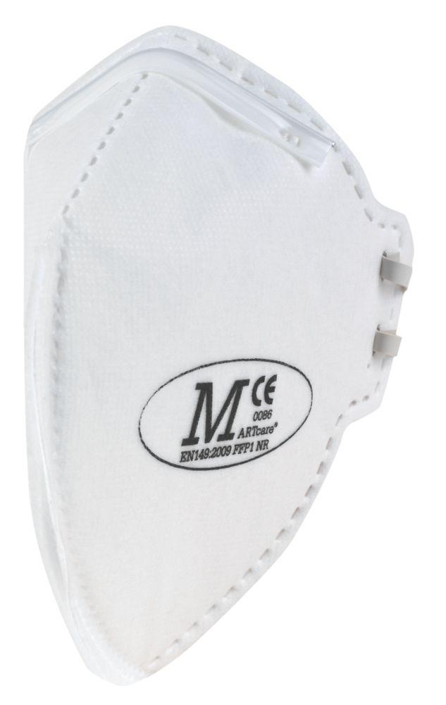 Masques sans soupape pliables à plat P1 JSP, lot de 2