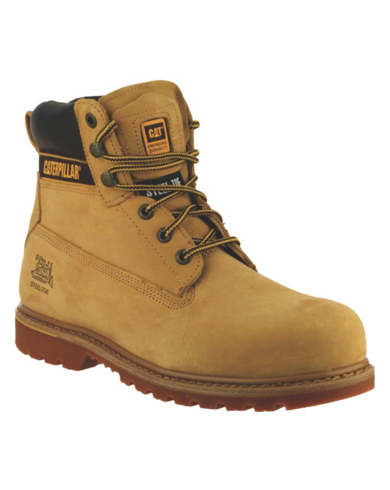 Chaussures de sécurité CAT Holton S3 miel taille 42