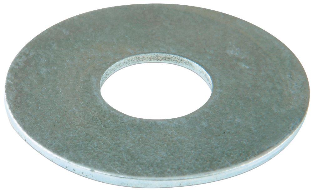 100rondelles plates larges en acier Easyfix M4 x1mm