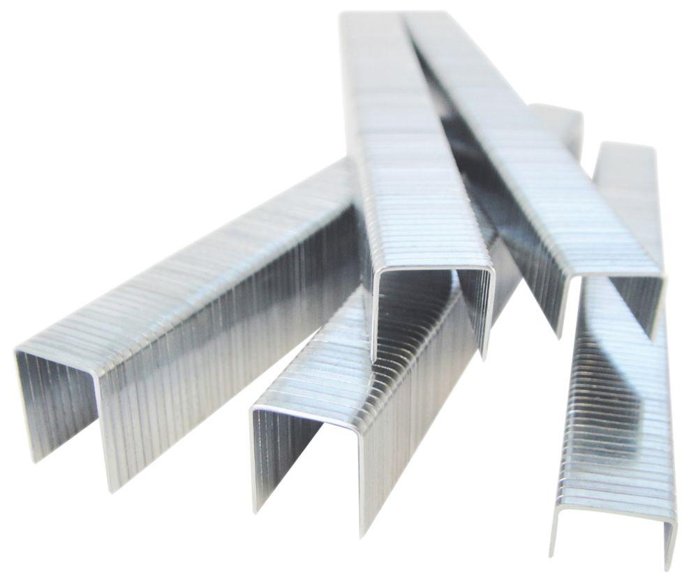 Agrafes en acier inoxydable pour travaux lourds type140 (T50, G11) Tacwise 8 x10,6mm pack de 2000