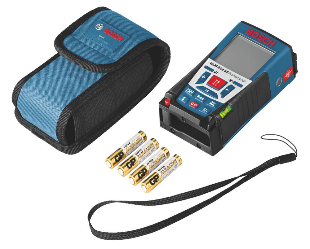 Télémètre laser GLM250VF Bosch