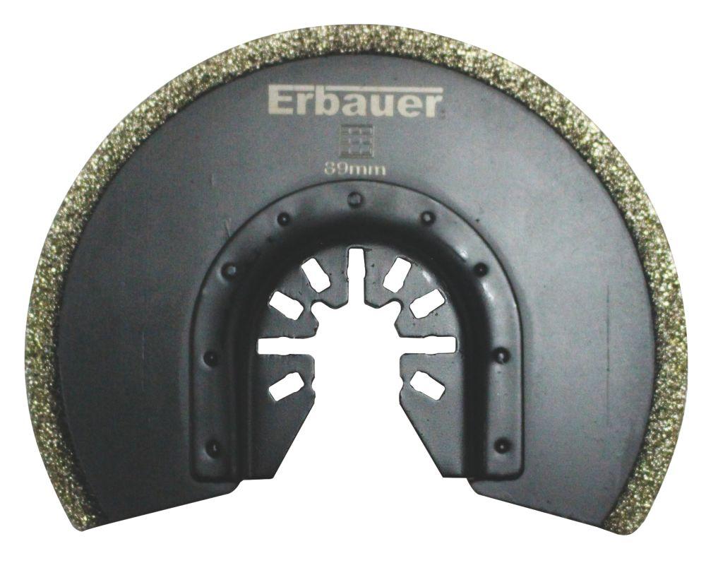 Lame de coupe segmentée pour carrelage Erbauer 89mm