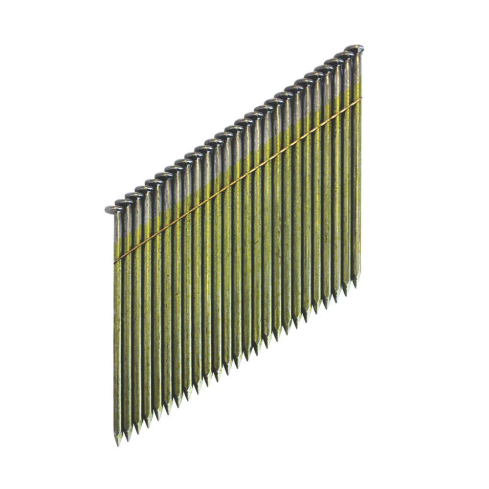 2200clous de charpente en bande collée brillants DeWalt 2,8 x63mm