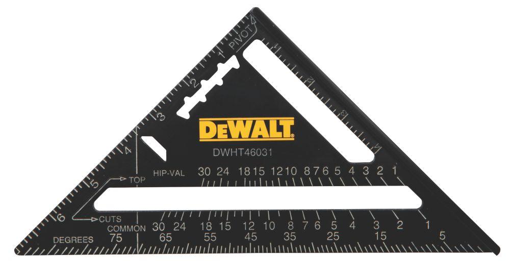 """Équerre de charpentier DeWalt Premium 7"""" (178mm)"""