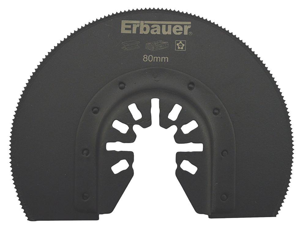 Lame de coupe segmentée pour bois/métal/plastique Erbauer 80mm