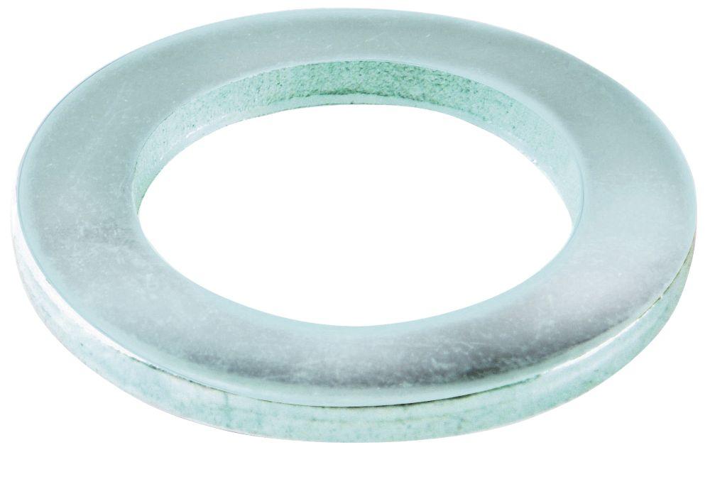 100rondelles plates en acier Easyfix M10 x2mm