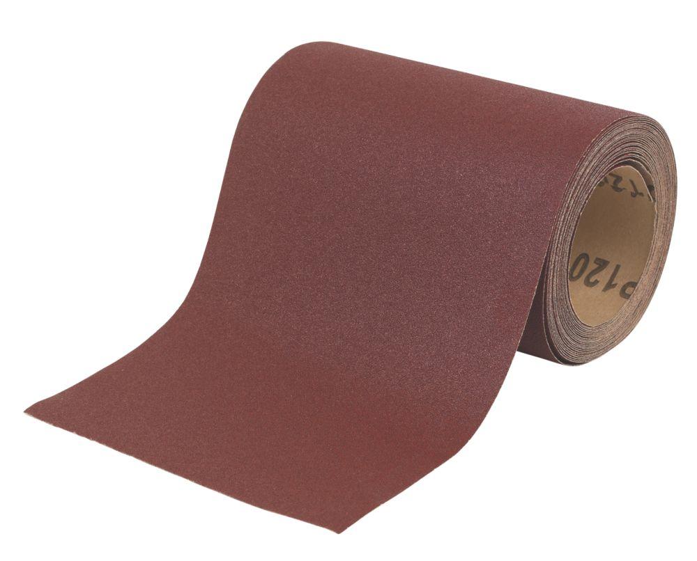 Rouleau de ponçage non perforé Flexovit 5m x 115mm grain120
