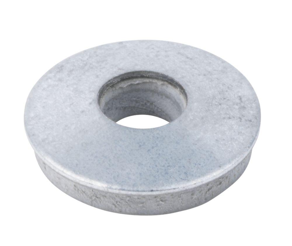 100rondelles Easyfix en acier au carbone et nylon EPDM M7 x3mm