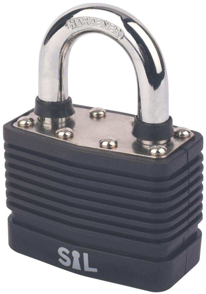 Cadenas en acier laminé résistant aux intempéries Smith & Locke 55mm