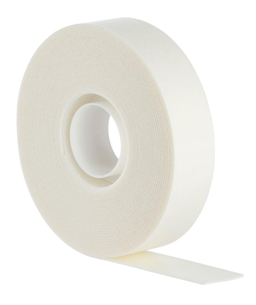 Ruban adhésif double face permanent à usage intérieur Scotch blanc 5m x19mm