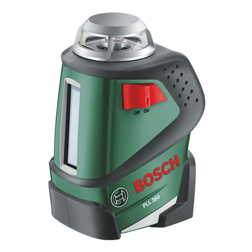 Niveau laser en croix à mise à niveau automatique avec trépied Bosch PLL360