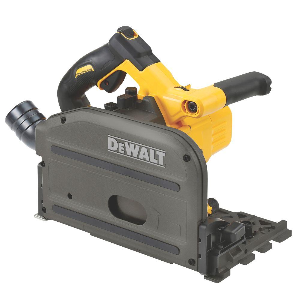 Scie plongeante sans fil moteur sans charbon DeWalt XR FlexVolt DCS520NT-XJ 165mm 54V Li-ion - Sans batterie