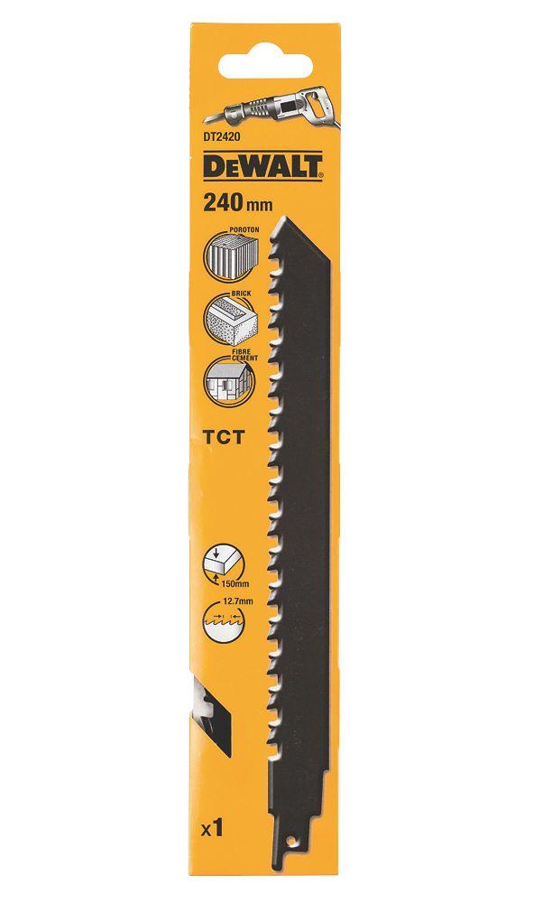 Lame de scie égoïne TCT DeWalt DT2420-QZ 240mm