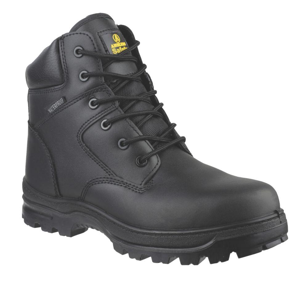 Chaussures de sécurité montantes sans métal Amblers FS006C noires taille 42