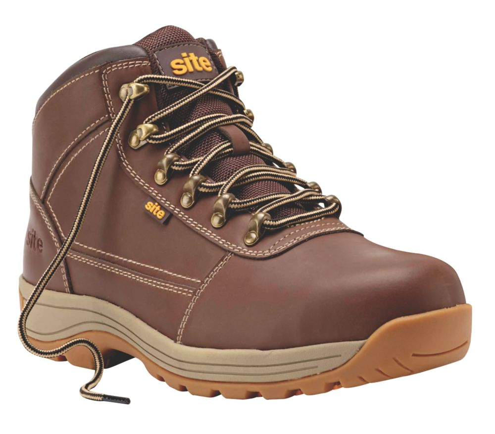 Chaussures de sécurité Site Amethyst marron taille 47