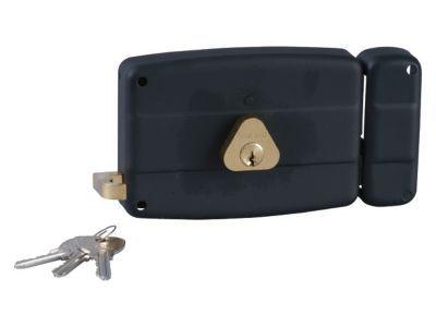 Serrure à cylindre horizontal Bricard tirage droite