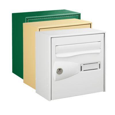 Boîte aux lettres 1 porte Diall Blanche