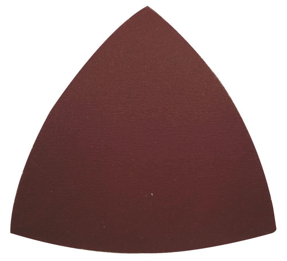 Feuilles abrasives Erbauer, assortiment de grains, 93 x 93mm, 10pièces
