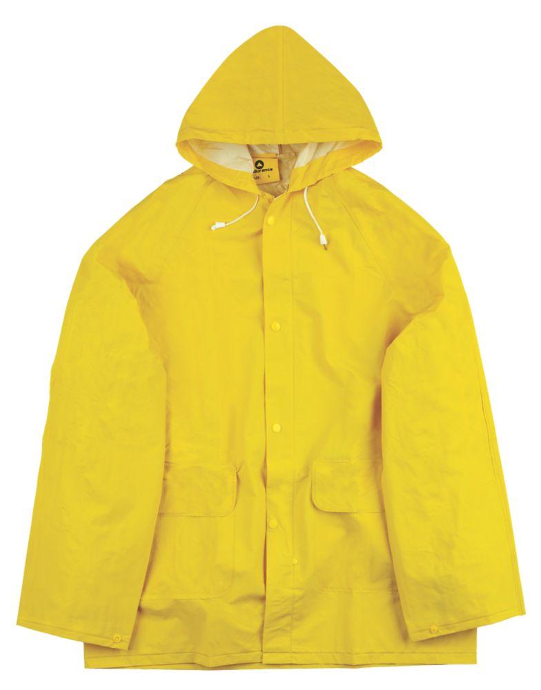 """Combinaison imperméable en 2parties Endurance Rainmaster jaune tailleL, tour de poitrine 42-44"""""""