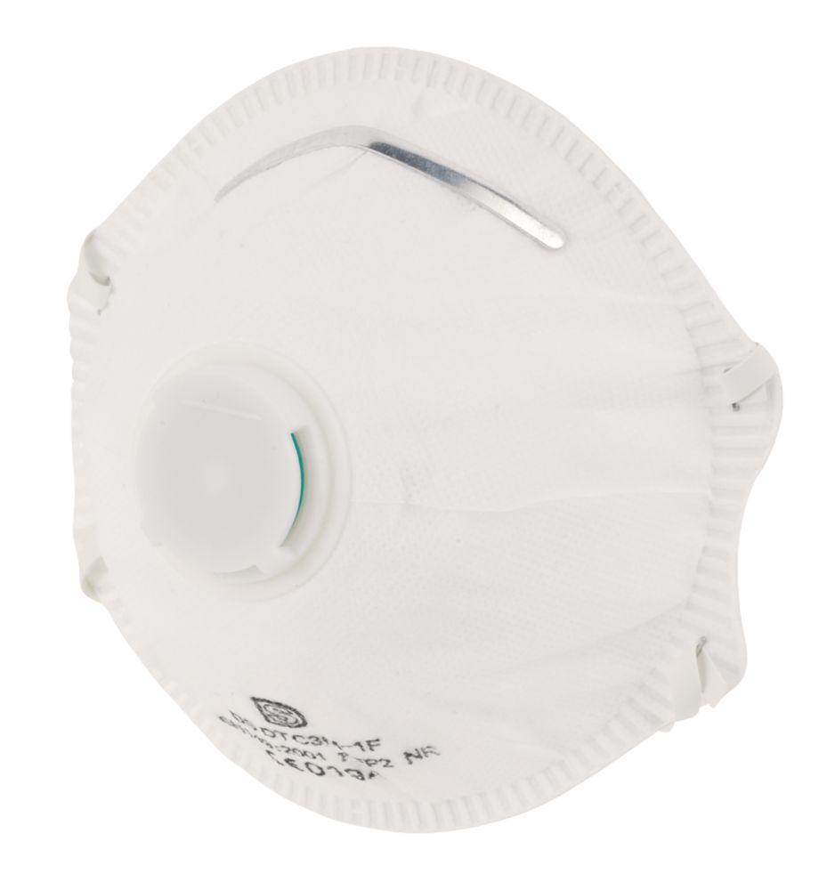 Masques moulés à soupape P2, lot de 2