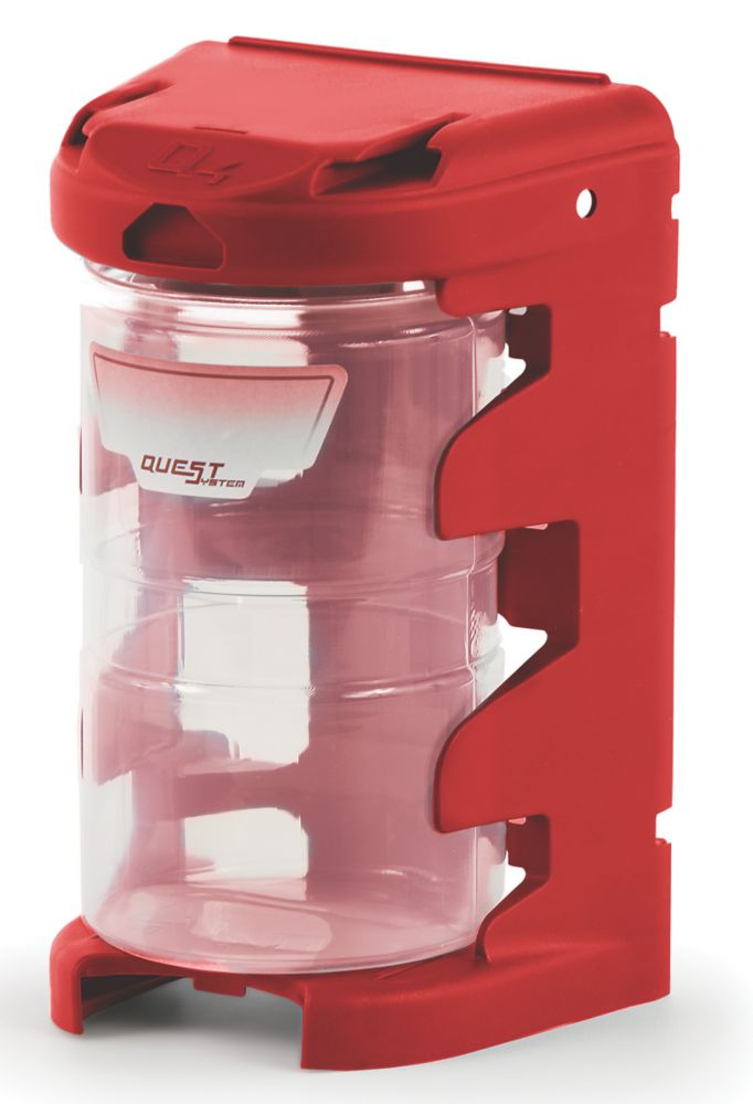 Casier modulable Q4 rouge