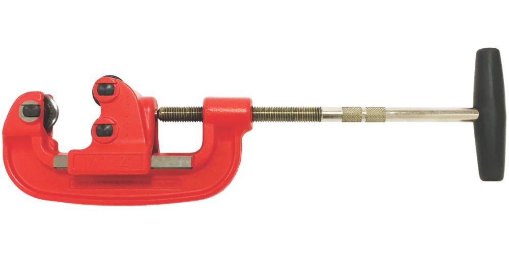 Coupe-tube en acier manuel 3-50mm Super Rothenberger