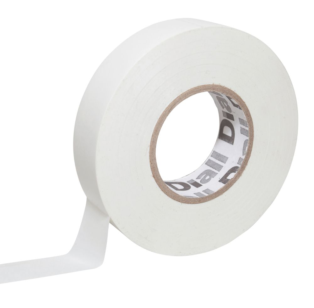 Ruban isolant510 blanc 33m x19mm