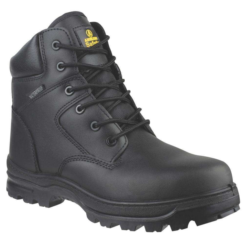 Chaussures de sécurité montantes sans métal Amblers FS006C noires taille44