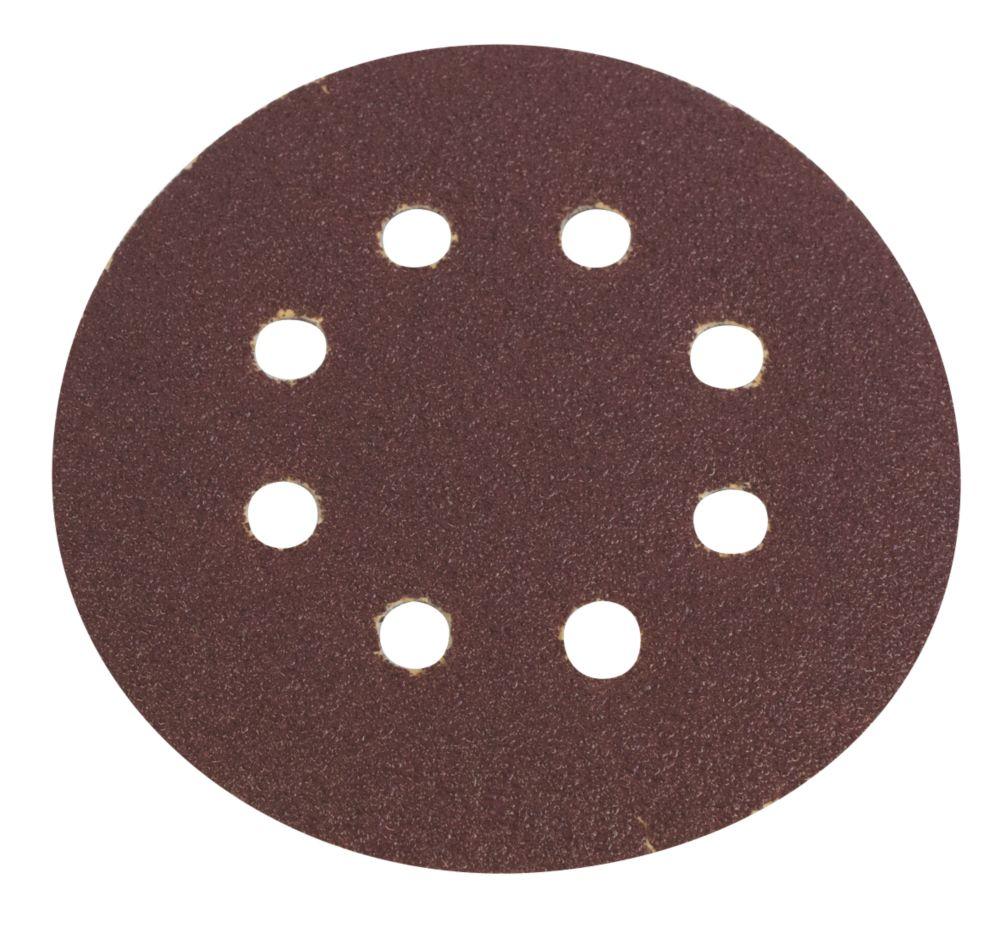Lot de 6disques de ponçage perforés Flexovit grain50 125mm