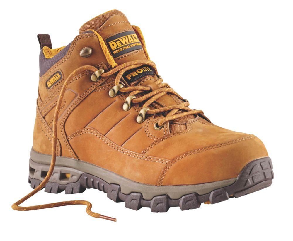 Chaussures de sécurité DeWalt Pro-Lite Comfort marron taille 46
