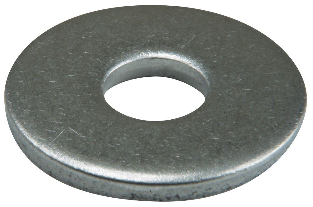 50rondelles plates larges en acier inoxydable A2 Easyfix M8 x2mm