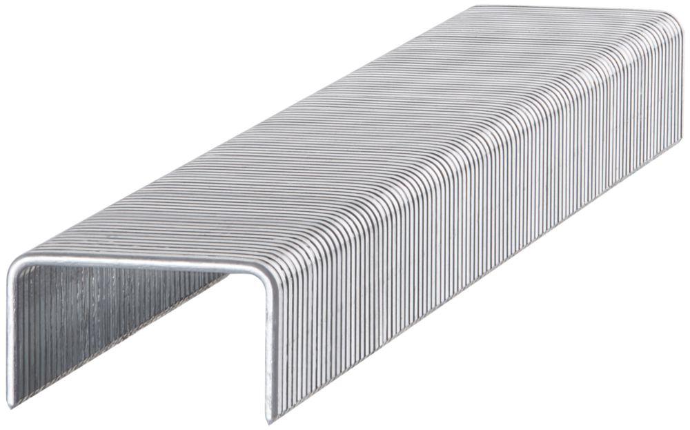 1000agrafes à usage peu intensif brillantes Stanley6 x10mm