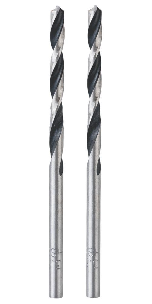 Lot de 2forets à queue droite Bosch 3,5 x 70mm