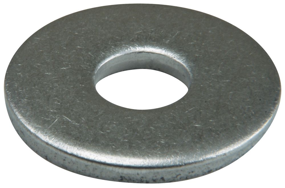 50rondelles plates larges en acier inoxydable A2 Easyfix M10 x2,5mm