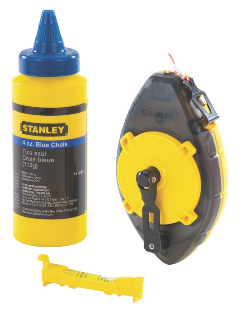 Kit de cordeau Stanley 30m