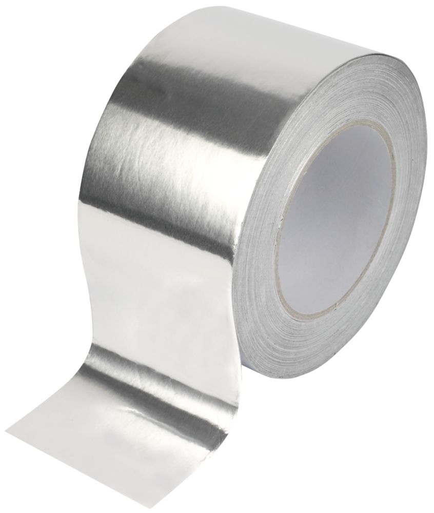 Ruban adhésif aluminium Diall argent 45m x75mm