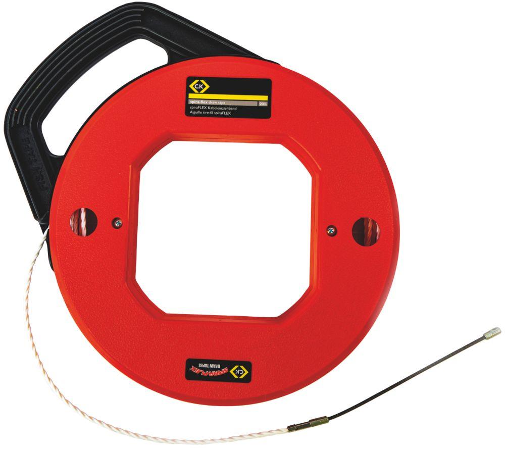 """Ruban tire-fil PET C.K Spira-Flex 20m (800"""")"""