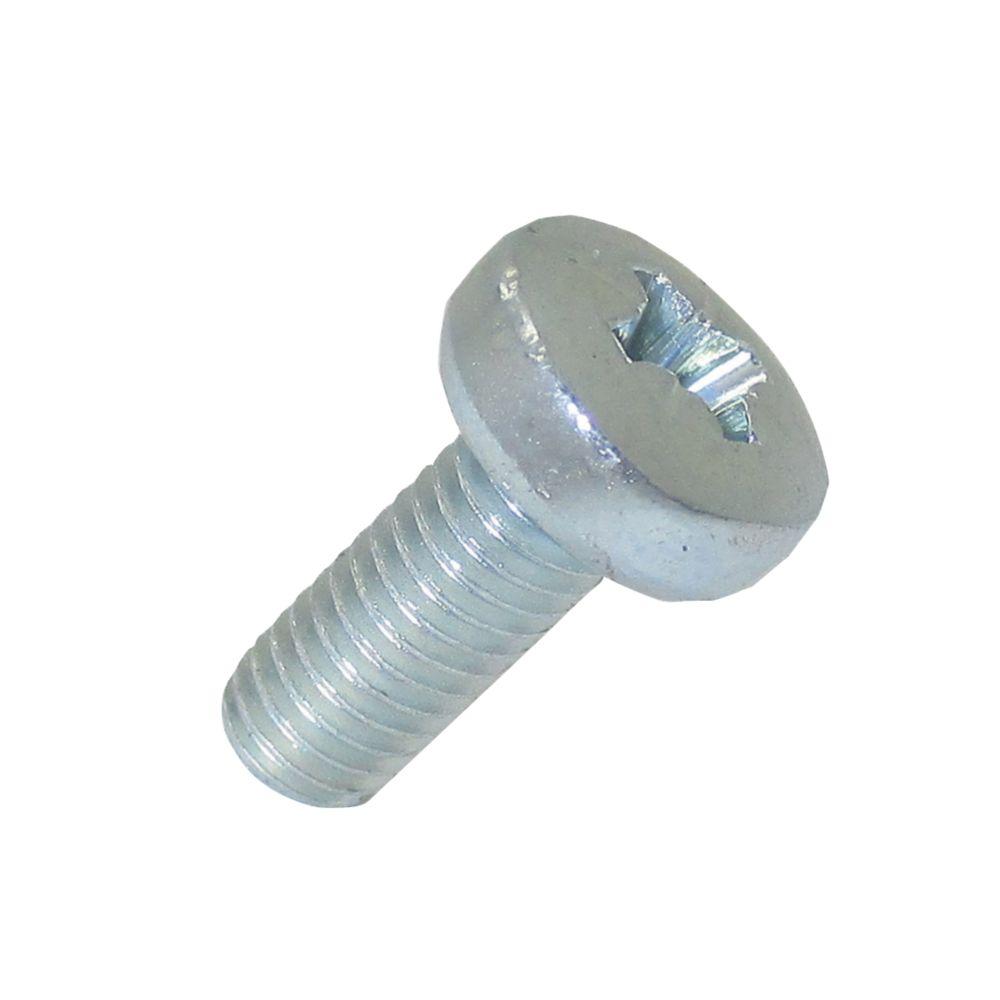 25vis à métaux à tête cylindrique zinguées brillantes Easyfix M5 x12mm